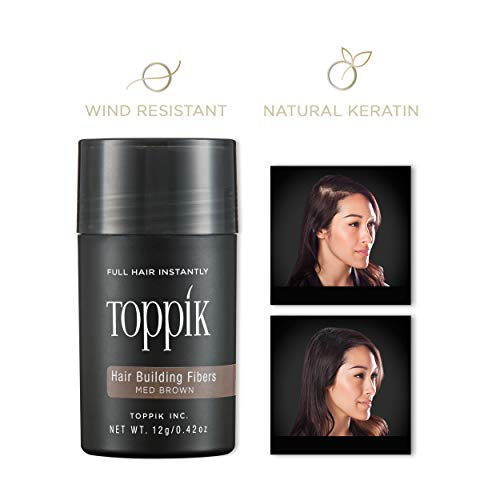 Toppik Hair Building Fibers, Medium Brown 12g