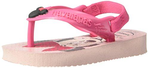 Havaianas Baby Disney Classics Sandal, Pearl Pink 23/24 BR/Toddler (9 M US)