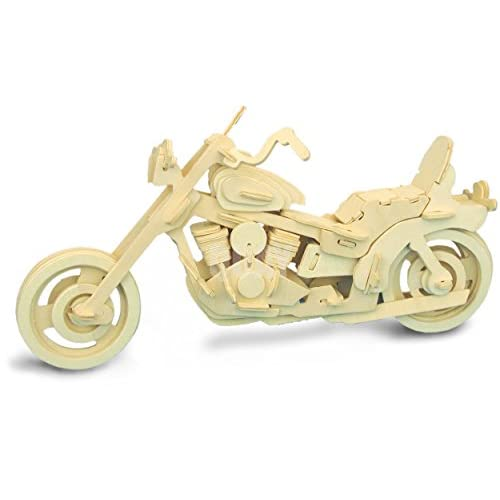 American Motocycle QUAY Woodcraft Construction Kit FSC