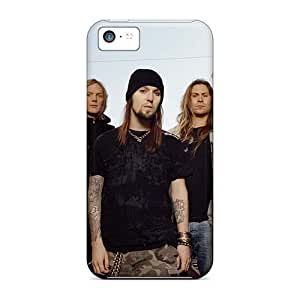 Protector Hard Phone Cover For Iphone 5c With Unique Design Colorful Children Of Bodom Band Pictures AlainTanielian