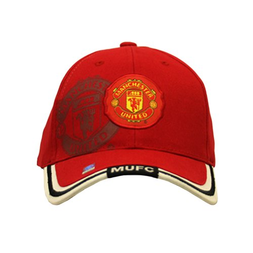 Manchester United Red Strapback Cap- Shadowed - Stores Designer Manchester
