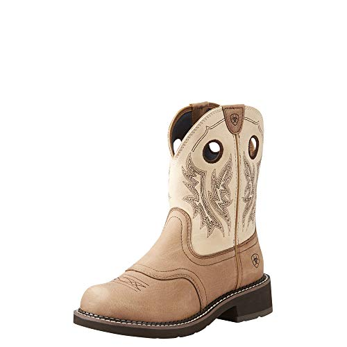 Ariat Women's Fatbaby Heritage Cowgirl Western Boot, Tan/Sand, 10 B US