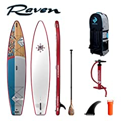 The shubu raven is designed as the ultimate routing and Expedition inflatable and is our go-to board for any trips where rivers, rocks, portages and less than ideal conditions make it difficult to bring a hard board. With its tapered bow and ...