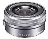 Sony SELP1650 16-50mm Power Zoom Lens (Silver, Bulk Packaging)