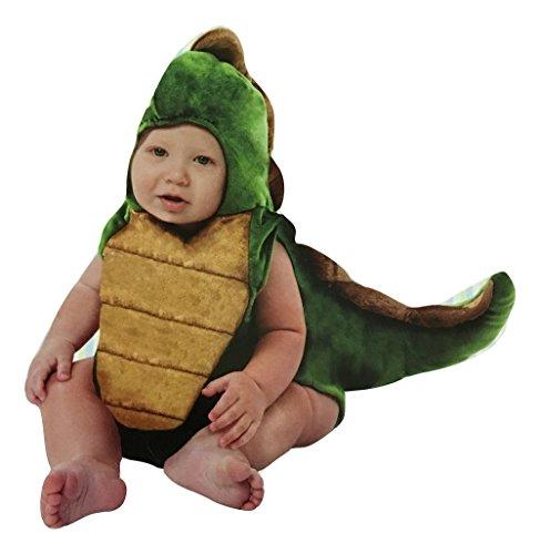 [Boo Babies Hallowenn Costume, Tiny T-Rex Dinosaur, 0-9 Months, 2 Piece] (Trex Baby Costumes)