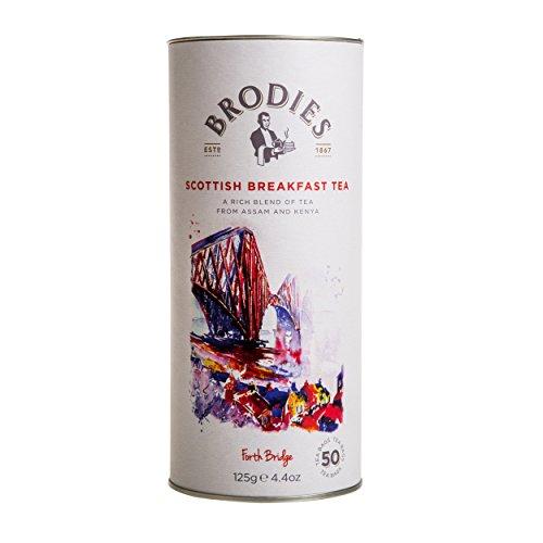 - Brodies Tea, Scottish Breakfast, 50-Count Tea Bag 4.4oz