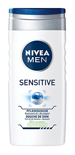 Nivea Men Sensitive Pflegedusche, Duschgel, 6er Pack (6 x 250 ml)