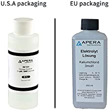 Apera Instruments 3M KCL Storage Soaking Solution (8 oz.) for pH and ORP Electrodes