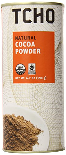TCHO Chocolate Natural Cocoa Powder, 6.7 Ounce by Tcho Chocolate