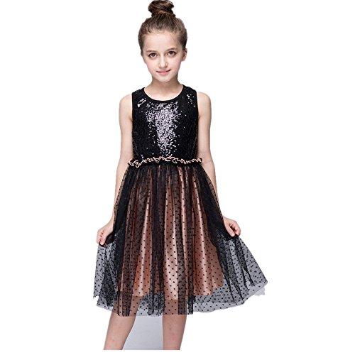 Sparkle Sequin Mesh Gown - 1