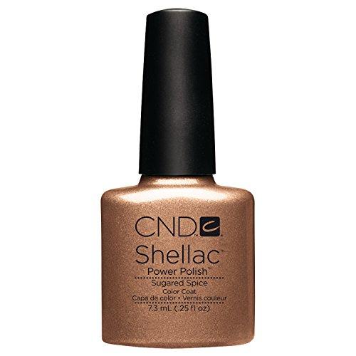 CND Cosmetics Nail Shellac New Fall 2012, Sugared Spice, 0.25 fl. Ounce