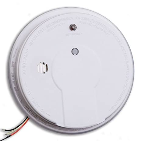 kidde hardwire smoke alarm with hush feature and battery backup 2 pack model