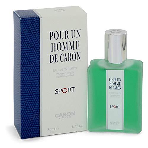 Çáróñ Pour Homme Sport by Çáróñ for Men Eau De Toílette Spray 1.7 oz