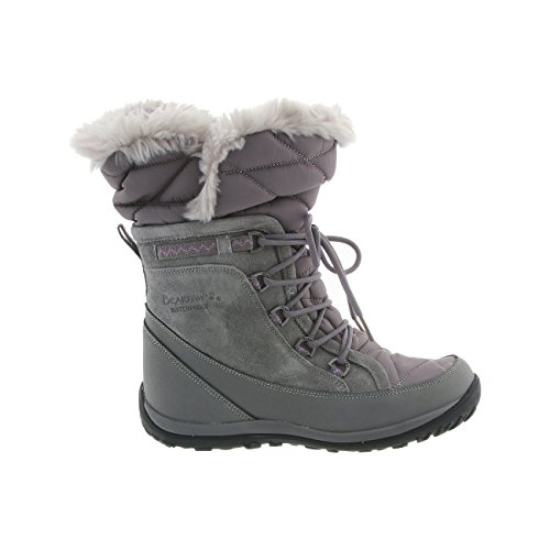 Boots Women's Whitney BEARPAW Nylon Size Gray Sheepskin 8 Waterproof Snow NeverWet xqqPOpw