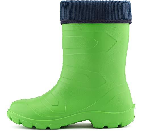 LALMG879 Seguridad Antideslizantes Muy Ligeras Mujer Marino Verde375c Botas de Agua Ladeheid de Zapatos Azul wxqv6p6