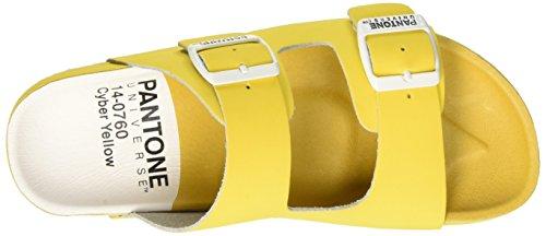 jaunes pour 33 à pompes 14 Formentera 0760 Yellow adultes Cyber plateforme Tpx unisexes Pantone 0fUSIqw