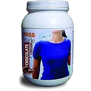 Develo weight & mass gainer protein for women & girls health gain, powder – 1kg (Chocolate)