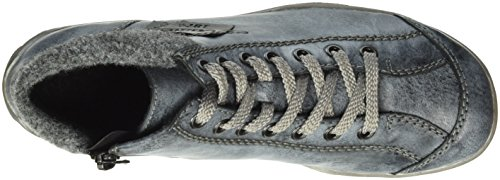 Mujer granit ozean Zapatillas De schwarz Azul Deporte Para Rieker L6540 Altas 7TYwx7Oq