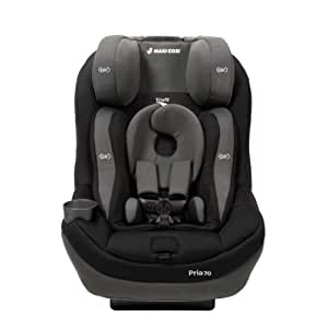 Maxi-Cosi  Pria 70 with Tiny Fit Convertible Car Seat, Total Black