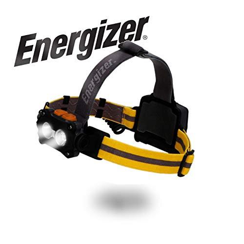 Energizer LED Headlamp Flashlight, High 325 Lumens LED Work Headlight, IPX4 Waterproof, Tactical Flashlight Head Lamp For Camping, Hiking, Outdoors, Running
