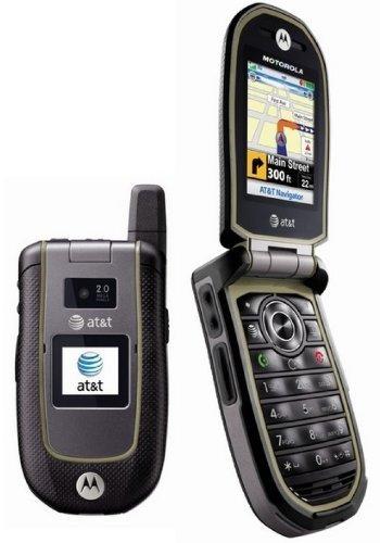 Motorola Tundra Va76r (Locked to At&t) Mp3 Camera Gps At&t -Grey (Original Motorola Cell Phone)