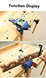 Vise Universal Rotate 360° Work Bench Clamps-on