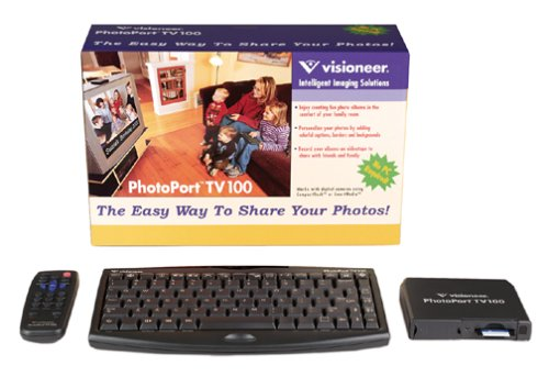 Visioneer PhotoPort TV 100 Photo Viewer