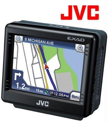 JVC® PORTABLE 20GB HDD NAVIGATIONAL SYSTEM (Model: KV-PX9B)