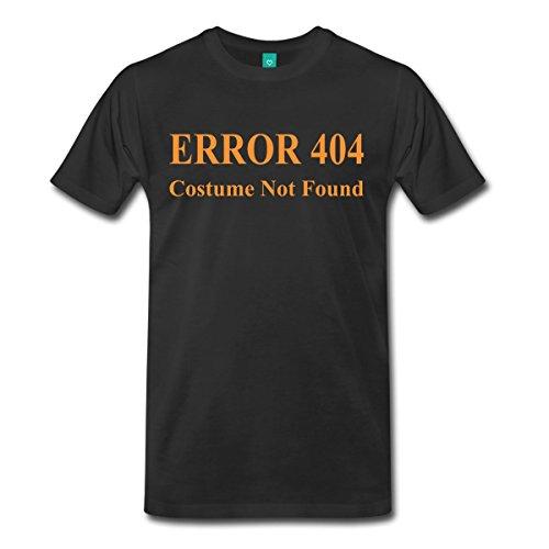 Error 404 Costume Not Found Men's Premium T-Shirt by Spreadshirt, XL, black (Halloween Castume)