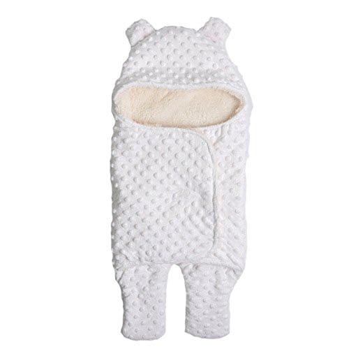 Swaddle Clothes, Adjustable Newborn Baby Wrap Set, 1 Pack Soft Cotton Sleepsack - Microfleece Adjustable Infant Wrap