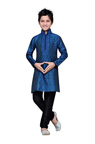 Asmafashion Store Indian Designer Partywear Ethnic Wedding Navy Blue Wedding Readymade by Asmafashion Store