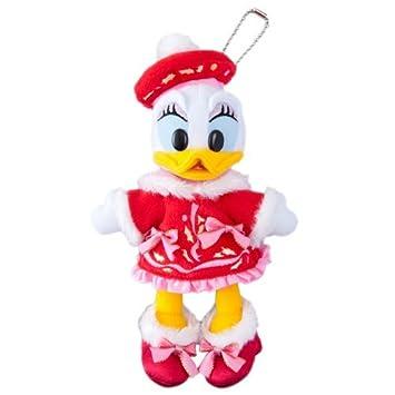 Disney Christmas 2015 insignia del pato de la margarita de peluche de Navidad Fantasia [