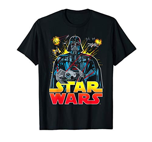 Dark Darth Vader Lord - Star Wars Darth Vader Retro Sith Lord Graphic T-Shirt