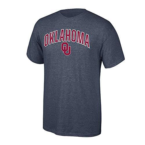 Oklahoma Sooners Jersey - Elite Fan Shop NCAA Men's Oklahoma Sooners T Shirt Dark Heather Arch Oklahoma Sooners Dark Heather X Large