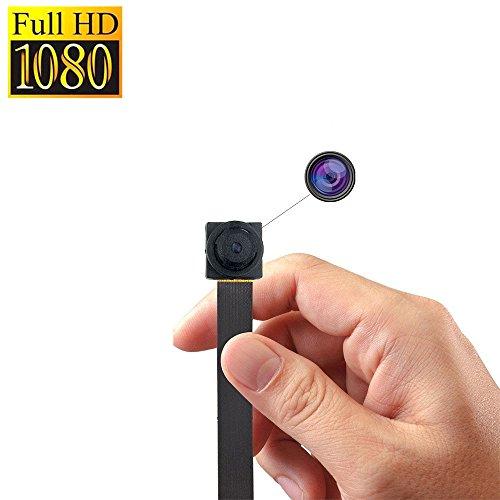 Zarsson Nanny Cam, Tiny Mini DV Wearable Body Camera Surveillance Video Camera with Motion Detected, Loop Recording, Taking Photos and TF Card Slot by Zarsson