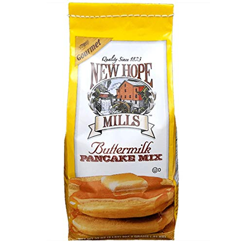 New Hope Mills Mix, Pancake, Buttermilk, 2-pound (Pack of 3) (3 Pack)