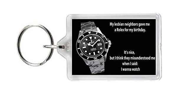 Llavero vecinos cumpleaños Lesbianas Sexo Sexy niñas reloj ...