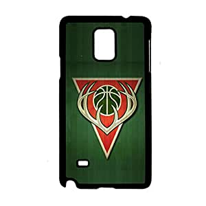 With Milwaukee Bucks Durable Phone Case For Girls For Samsung Galaxy Note4 Choose Design 1