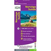 IGN NO.86107 : NORVEGE, SUÈDE - NORWAY, SWEDEN