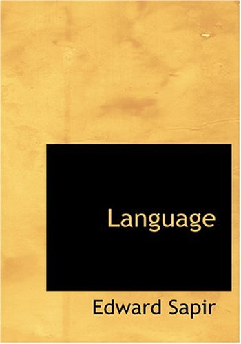 Language (Large Print Edition) by BiblioLife