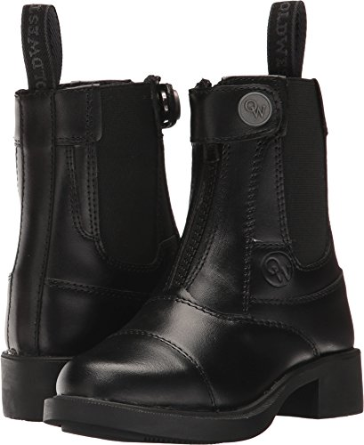 Old West English Kids Boots Unisex Magic (Toddler/Little Kid/Big Kid) Black 3.5 M US Big Kid ()