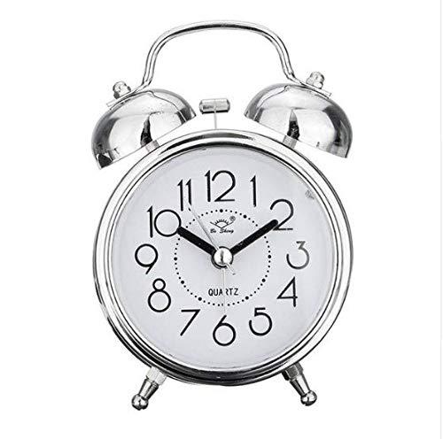 linfei Creativo Retro Reloj De Alarma De Bronce Antiguo ...