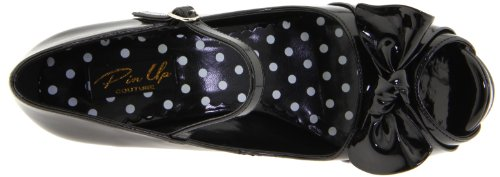 Pin Up Couture CUTIEPIE-08 Blk Pat UK 8 (EU 41 )