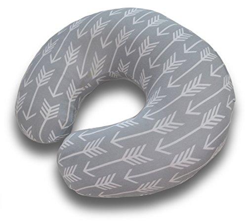 premium-nursing-pillow-cover-arrow-pattern-slipcover-best-for-breastfeeding-moms-soft-breathable-fab