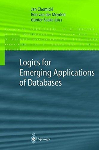 Download Logics for Emerging Applications of Databases Pdf