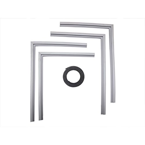 Supco SU2001 Refrigerator Door Gasket Kit, Includes Magnetic Insert Strip - Designed To Fit Most ()