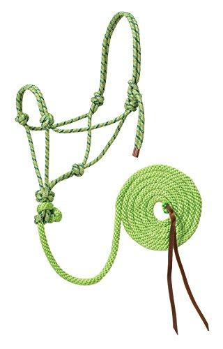Weaver Leather Diamond Braid Reflective Rope Halter & Lead (Weaver Diamond)