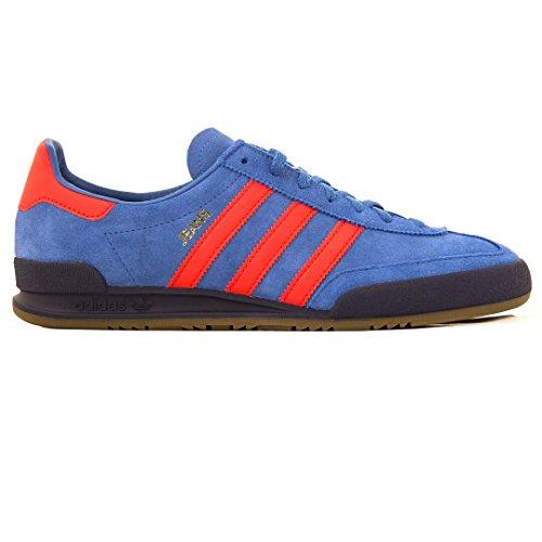 Adidas Herren Sneaker Blu, Traccia Royal Red