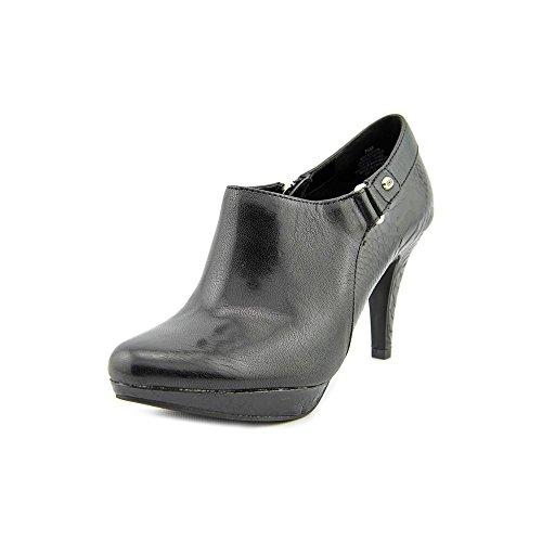 Bandolino Womens Cassion Boot Black2 Leather Size 10 - Bandolino Leather Platforms