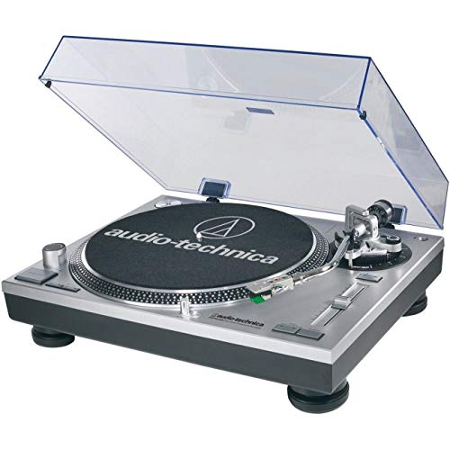 (Audio-Technica AT-LP120-USB Direct-Drive Professional Turntable (USB & Analog), Silver)